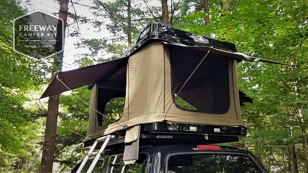 tente de toit freeway freeway camper kit. Black Bedroom Furniture Sets. Home Design Ideas